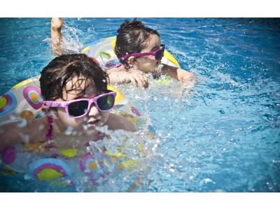 В доме-интернате для умственно отсталых детей открыли бассейн
