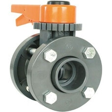 Дисковый затвор Coraplax WITH FLANGE ADAPTORS DN 125, c фланцем 125